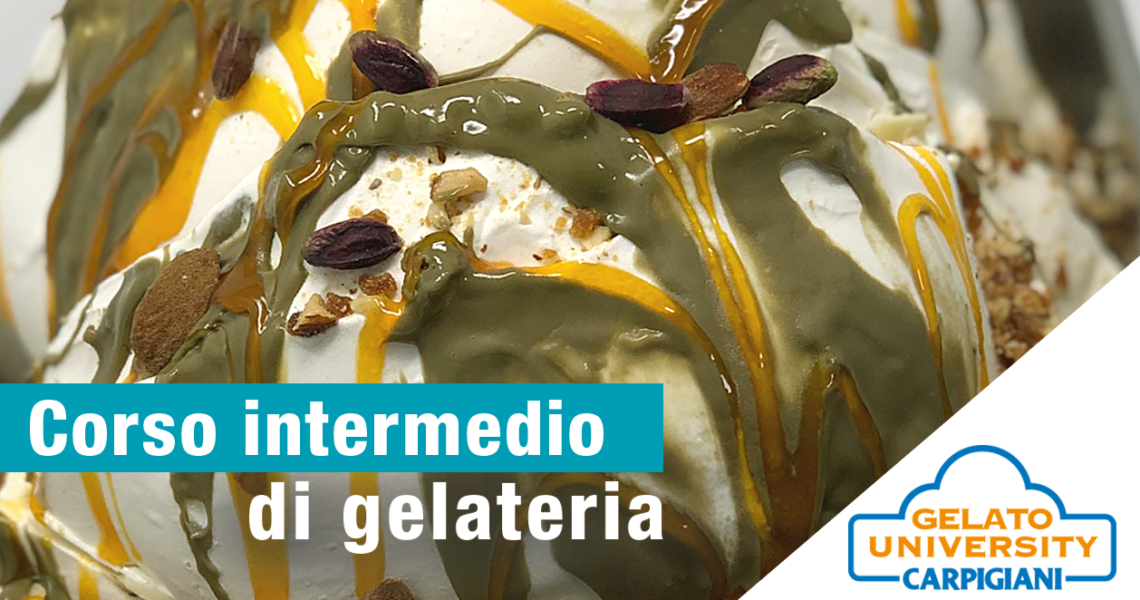 corso di gelateria Carpigiani Gelato University